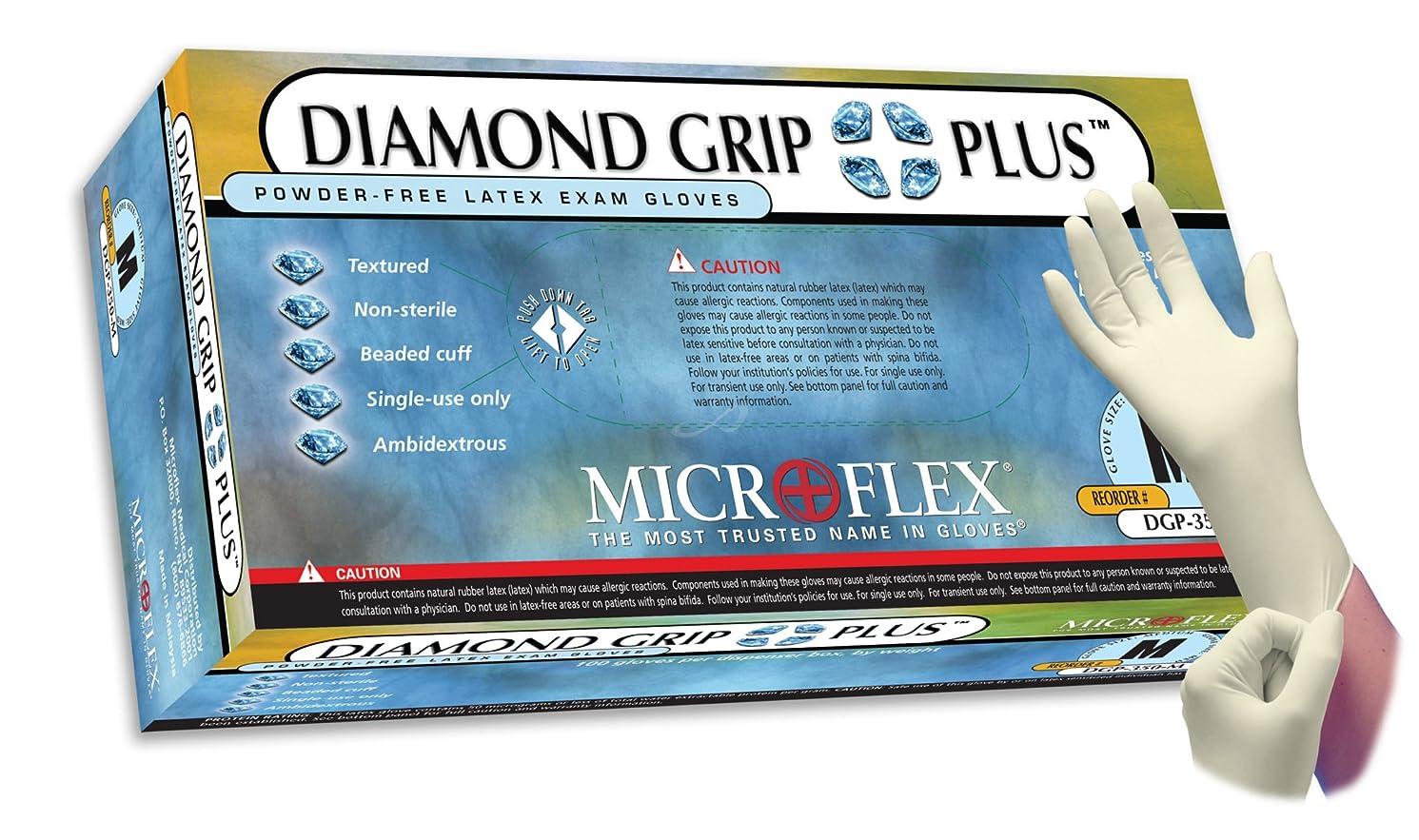 MicroFlex Case Of Diamond Grip Plus PF Latex Exam X-Large