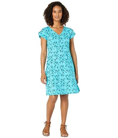 Fresh Produce Maritime Mosaic Amelia Dress (Luna Turquoise) Women