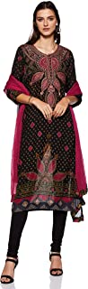 Round Neck Full Sleeve Long Printed Kurta With Legging And Dupatta