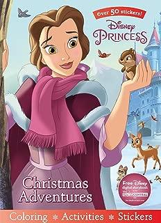 Disney Princess Christmas Adventures (Sticker Scenes & Coloring Book)