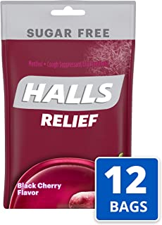 yellow halls cough drops
