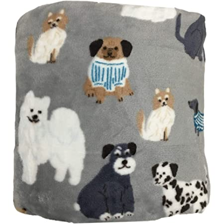5/' x 6/' The Big One Oversized Throw HOLIDAY Blanket SWEATER DOGS NEW