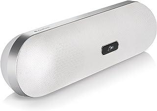 iQualTech Altavoz Bluetooth - Forma de la Píldora con Micrófono de Manos Libres, 2 x 5 vatios Altavoces