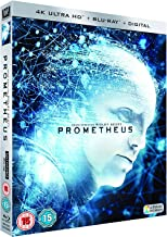 Prometheus (4K UHD + Blu-ray + Digital HD) (2-Disc Set) (Slipcase Packaging + Region Free + Fully Packaged Import)