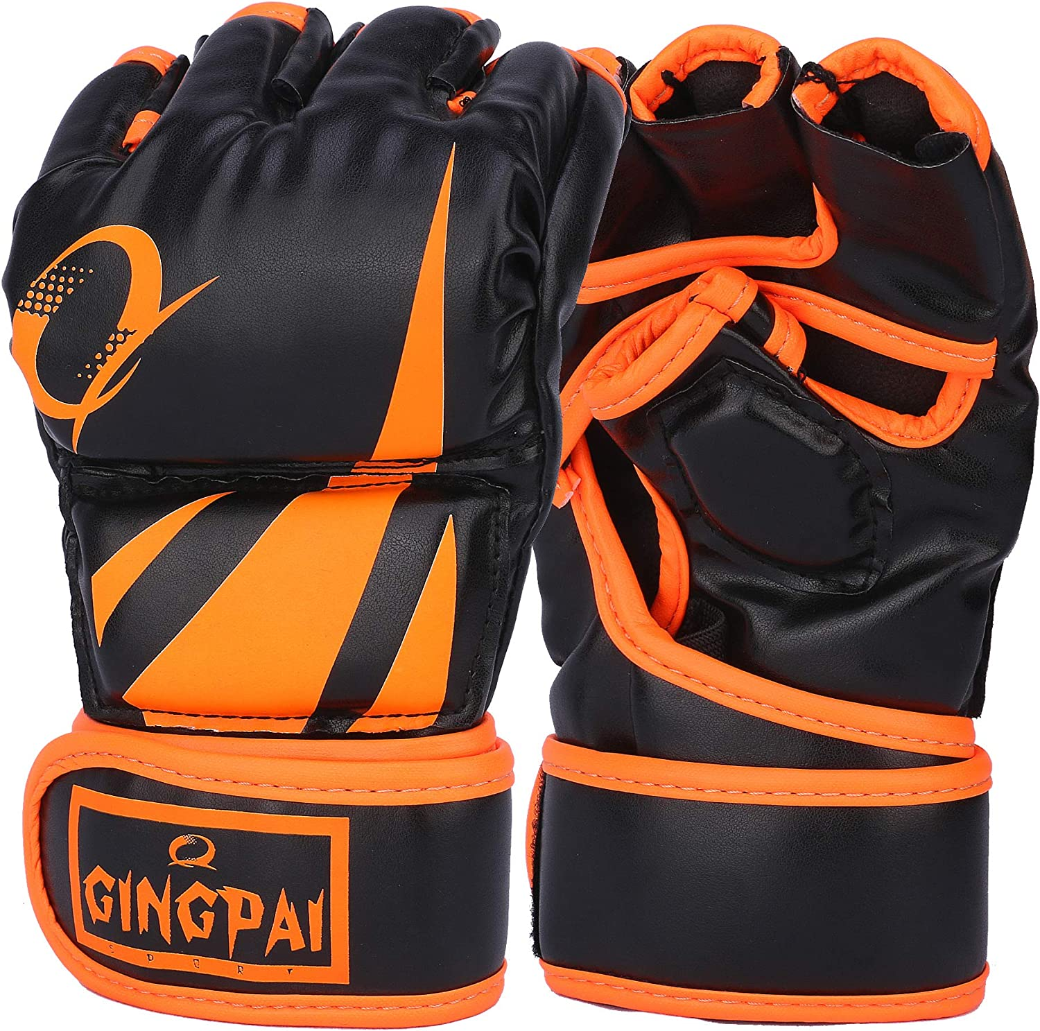 GINGPAI UFC Our Directly managed store shop most popular MMA Gloves Half-Finger Boxing Fight Men for
