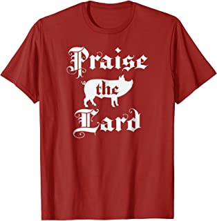 Praise the Lard Official Cris P Bacon Pig T Shirt