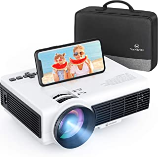 VANKYO Leisure 3W Mini Projector with Synchronize Smartphone Screen, 3600L Portable WiFi Projector Supports 1080P for iOS/...