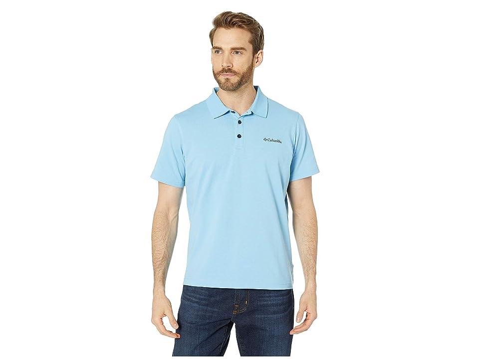 Columbia Elm Creektm Stretch Polo (Blue Sky) Men