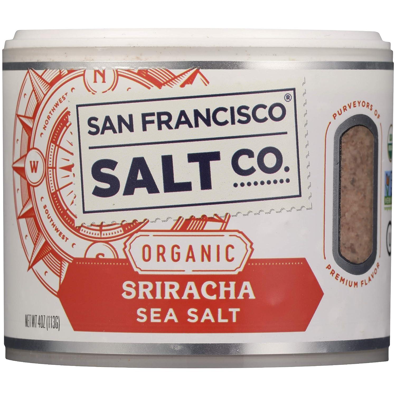 San Francisco Salt Company, Salt Sriracha Gourmet Organic, 4 Oun