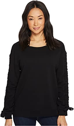 Sanctuary - Camden Ruched Sweatshirt