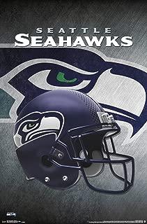 Trends International Seattle Seahawks Helmet Wall Poster 22.375