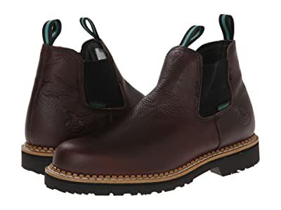Georgia Boot Georgia Giant High Romeo Waterproof (Soggy Brown) Men