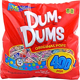 Dum Dums 400 count gusset bag