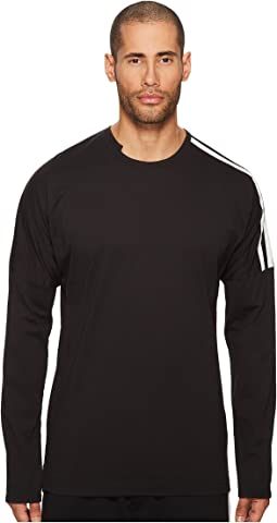 3 Stripes Long Sleeve T-Shirt