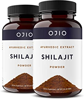 Sponsored Ad - Ojio Shilajit Powder | Premium Grade | Fulvic Acid & Trace Minerals Super Food | Cleansing Detoxification |...