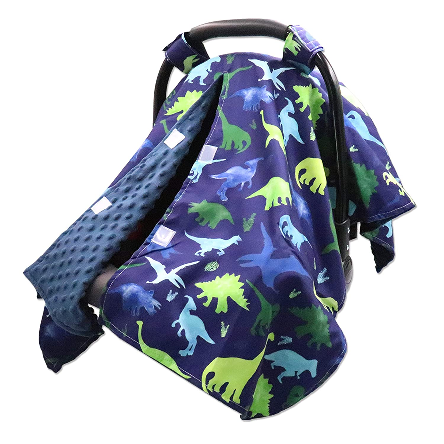 Peekaboo Opening Carseat Cover Outlet SALE Dinosaur Open Nursing Many popular brands Car