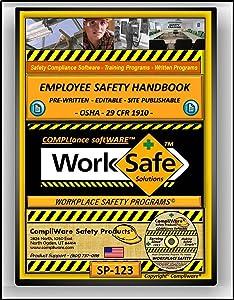 SP-123 - CORPORATE EMPLOYEE SAFETY HANDBOOK – MODEL PUBLICATION - OSHA - 29 CFR 1910 - UPC - 639737375107
