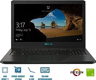 "Notebook Asus F570ZD-DM387T Ryzen 5 8GB (Geforce GTX1050 com 4GB), 1TB , Tela de 15,6"" Windows 10 - Preto"