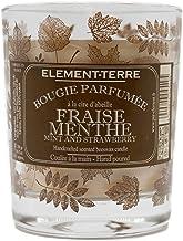Świeca zapachowa, 200 g, 50 godzin, zapach truskawki miętowej