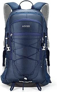 Lightweight Hiking Backpack, 45L Camping Daypack Travel Bag Waterproof