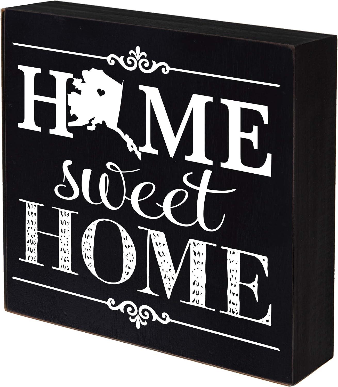 Bombing new work LifeSong Milestones Alaska Home Sweet State Shadow Superior Box