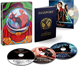 【Amazon.co.jp限定】スパイダーマン:ファー・フロム・ホーム ブルーレイ&DVD&4K ULTRA HD スチールブック仕様(初回生産限定)(特典 スペシャル・ボーナスディスク付) [Steelbook] [Blu-ray]