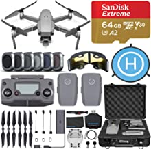 DJI Mavic 2 Pro Drone Quadcopter with Hasselblad Camera, 2 Batteries, 6 pc Filter Kit, SanDisk Extreme 64gb Memory Card, A...