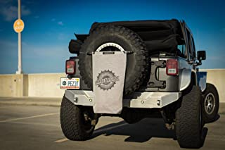 SPIDERWEBSHADE Jeep Wrangler Mesh TrailSac Exterior Storage Bag Accessory for Trail Gear or TrashUSA Made with 5 Year Warranty in Grey