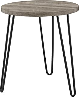 Ameriwood Home Owen Retro End Table, Weathered Oak