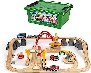 BRIO Cargo Railway Deluxe Set