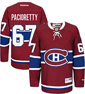 Max Pacioretty Montreal Canadiens Burgundy Youth LNH Reebok Premier Home Jersey