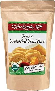 War Eagle Mill Bread Flour, Organic, non-GMO, unbleached, high-protein - 2 lb
