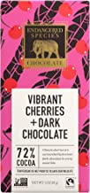 Endangered Species Puffin, Dark Chocolate with Cherries, 3 Ounce (Pack of 12)