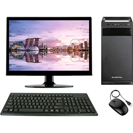 Gandiva® Economical 15.6-inch All in One C2D Desktop Computer(Core2Duo/4GB/160GB HDD/Windows 7(Trial Version)) MS Office(Trial Version) & Antivirus(Free Version)