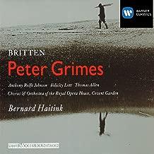 Peter Grimes Op. 33, ACT 1 Scene 1: Oh hang at open doors the net (Chorus/1st Fisherman/Auntie/Boles/Balstrode/2nd Fisherman/Rector/Nieces/Mrs Sedley/Swallow)