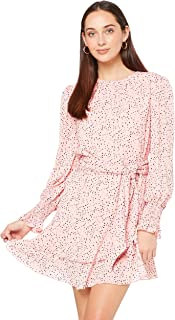 Finders Keepers Women's Secrets Mini Dress, Blush Spot