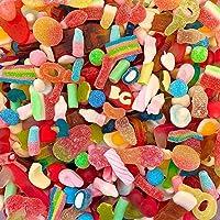 BG Quality Pick & Mix Sweets - Large Retro Candy Assortment,1kg Pouch Pick n Mix