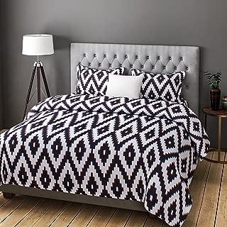Rago Relish Abstract Geometrical Print Black and White BEDSHEET Set