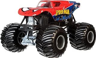 Hot Wheels Monster Jam 1:24 Die-Cast Spider-Man Vehicle