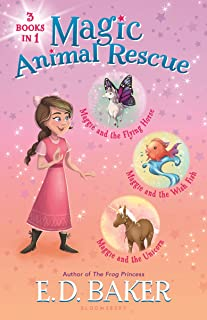 Magic Animal Rescue Bind-up Books 1-3: Maggie and the Flying Horse, Maggie and the Wish Fish, and Maggie and the Unicorn