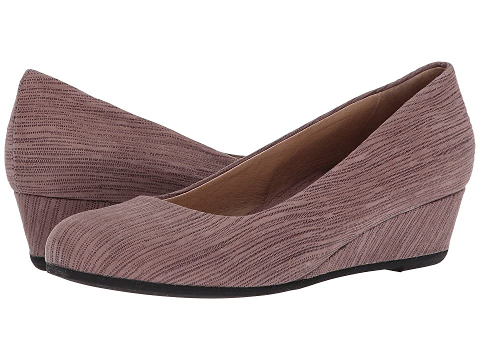French Sole Gumdrop (Taupe Pinstripe Print) Women