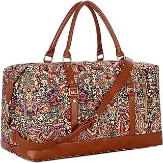 OVERSIZED HB-14 Travel Duffel Bag Carry on Weekender Overnight Bag For Women (Multicolour)
