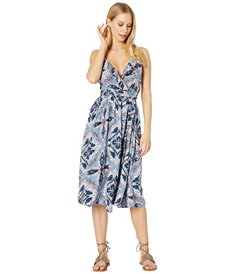 edc68cd45e Roxy Rooftop Sunrise Printed Wrap Dress at Zappos.com