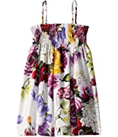Dolce & Gabbana Kids - D&G Floral Swimsuit Cover-Up Dress (Little Kids)
