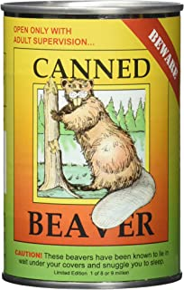 N2 Canned Critters Stuffed Animal: Beaver 6