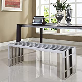 Best modway medium gridiron stainless steel bench Reviews