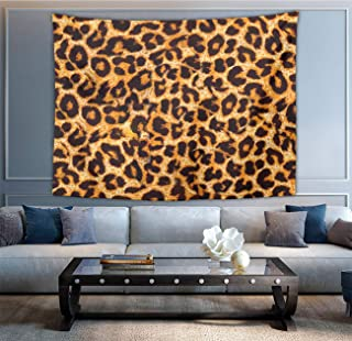 NiYoung Wall Hanging Queen Tapestry, Boho Hippie Hippy Bedding Tapestry, Indian Wall Decoration, Animal Leopard Print, Living Room Hippie Tapestries