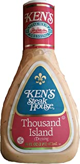 Ken's Steak House Thousand Island Salad Dressing 16 Oz (Pack of 2)