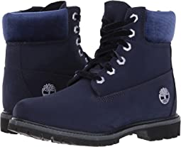 "Timberland 6"" Premium Leather and Fabric Waterproof Boot"