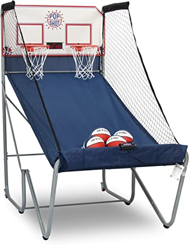 Pop-A-Shot New Official Home Dual Shot Basketball Arcade Game – 16 Individual Games – Durable Construction – Near 100...